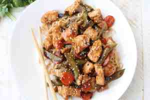 20 Minute Kung Pao Chicken Recipe