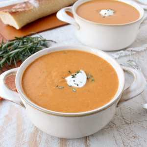 30 Minute Sweet Potato Soup