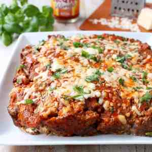 Buffalo Cheesy Meatloaf