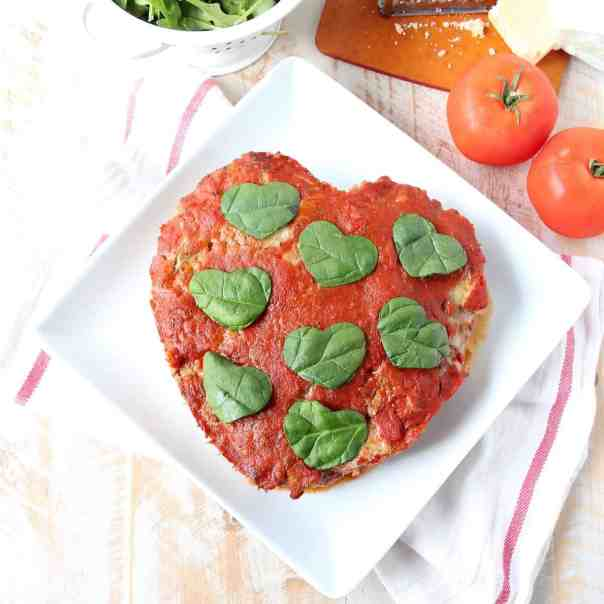 Heart Shaped Meatloaf