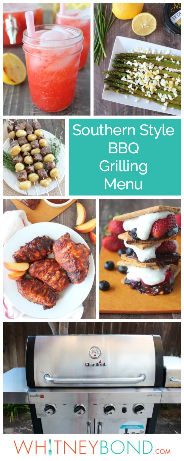 grilling menu ideas for summer parties - whitneybond
