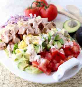 Cajun Turkey Cobb Salad