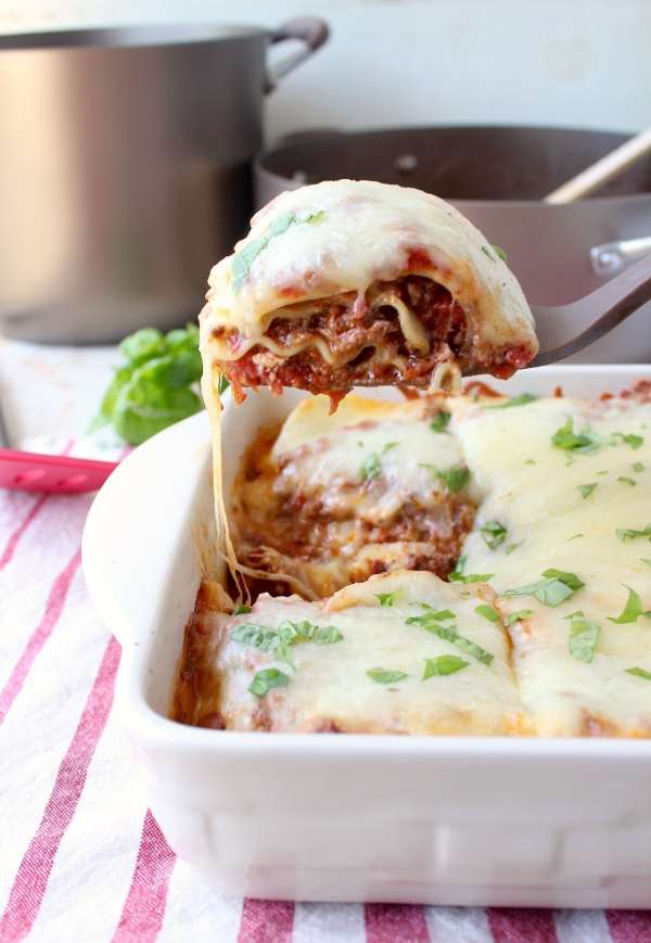 Learn how to make a slow cooked lasagna bolognese, great for weekend celebrations, or a 30 minute lasagna bolognese, perfect for weeknight dinners!
