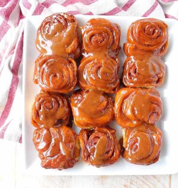 Salted Caramel Cinnamon Rolls
