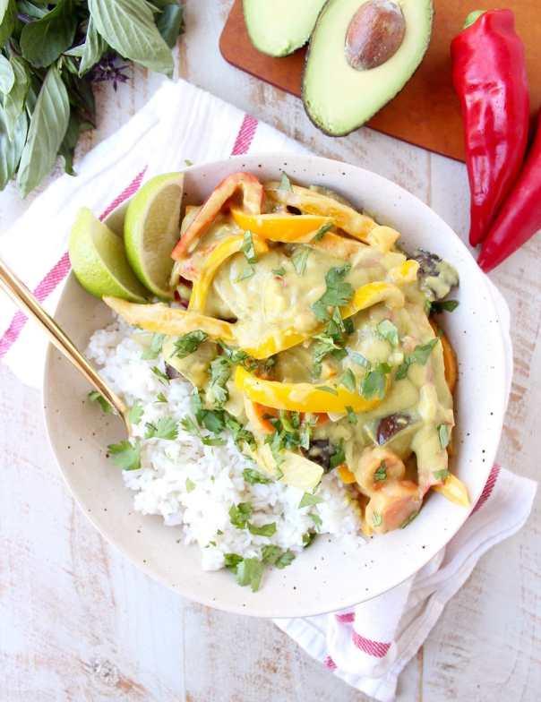 Thai Green Avocado Curry