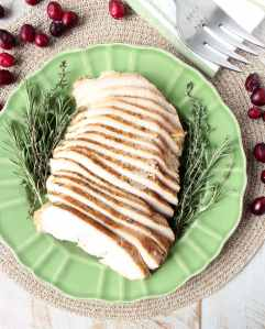 Maple Apple Slow Cooker Turkey Breast