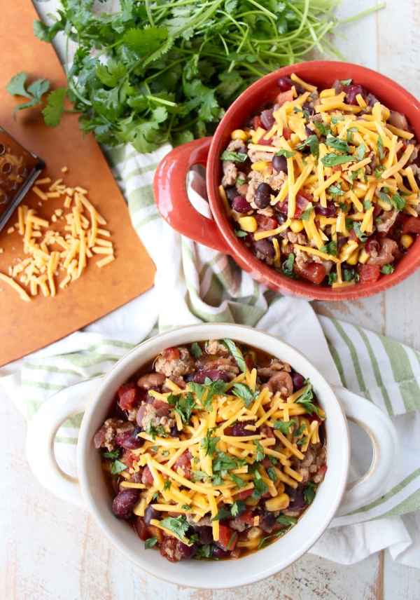 recipe: healthy taco soup with ground turkey [21]