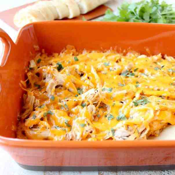 Cajun Turkey Cheese Dip