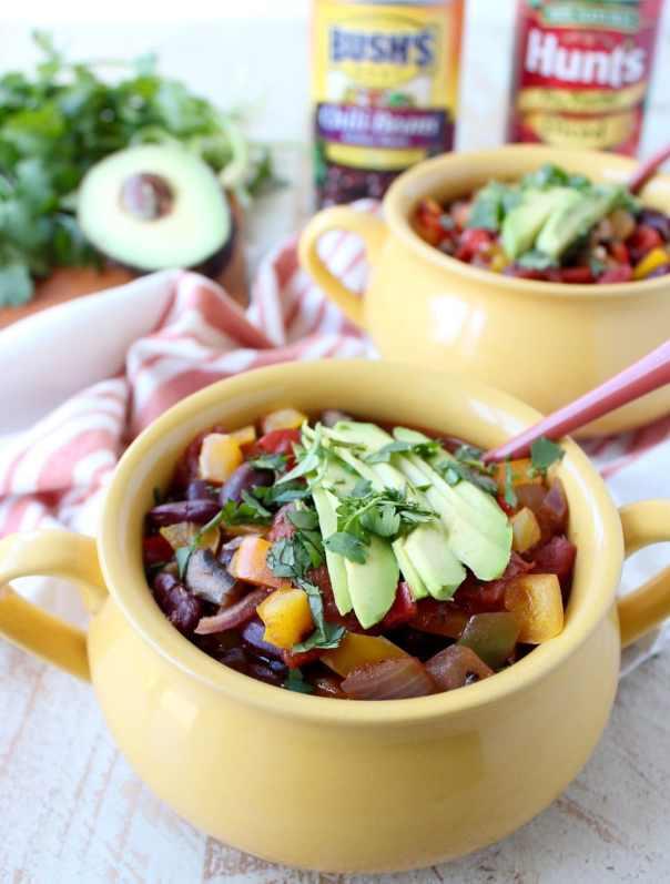Whitney's Pepper Fiesta Vegetarian Chili