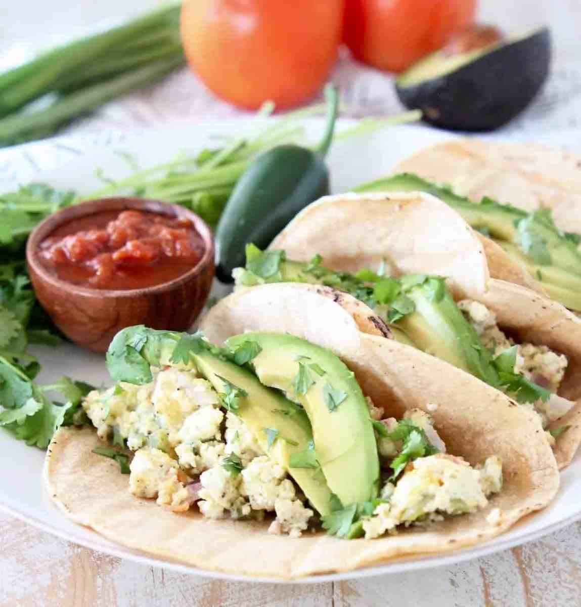 Pressure Cooker Breakfast Tacos