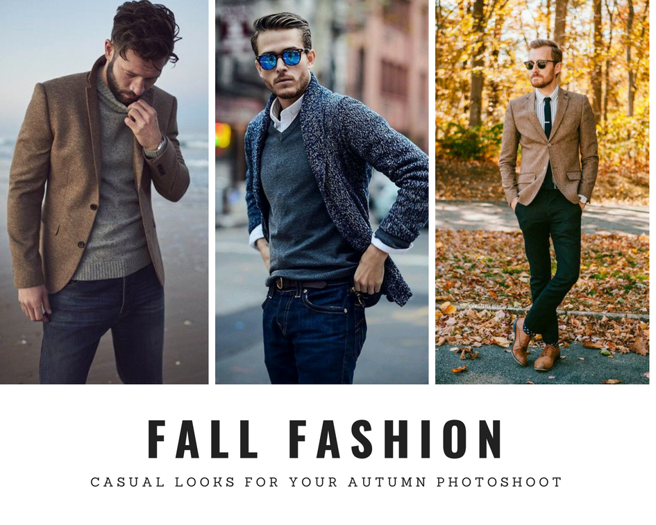 how to dress for your autumn photoshoot men