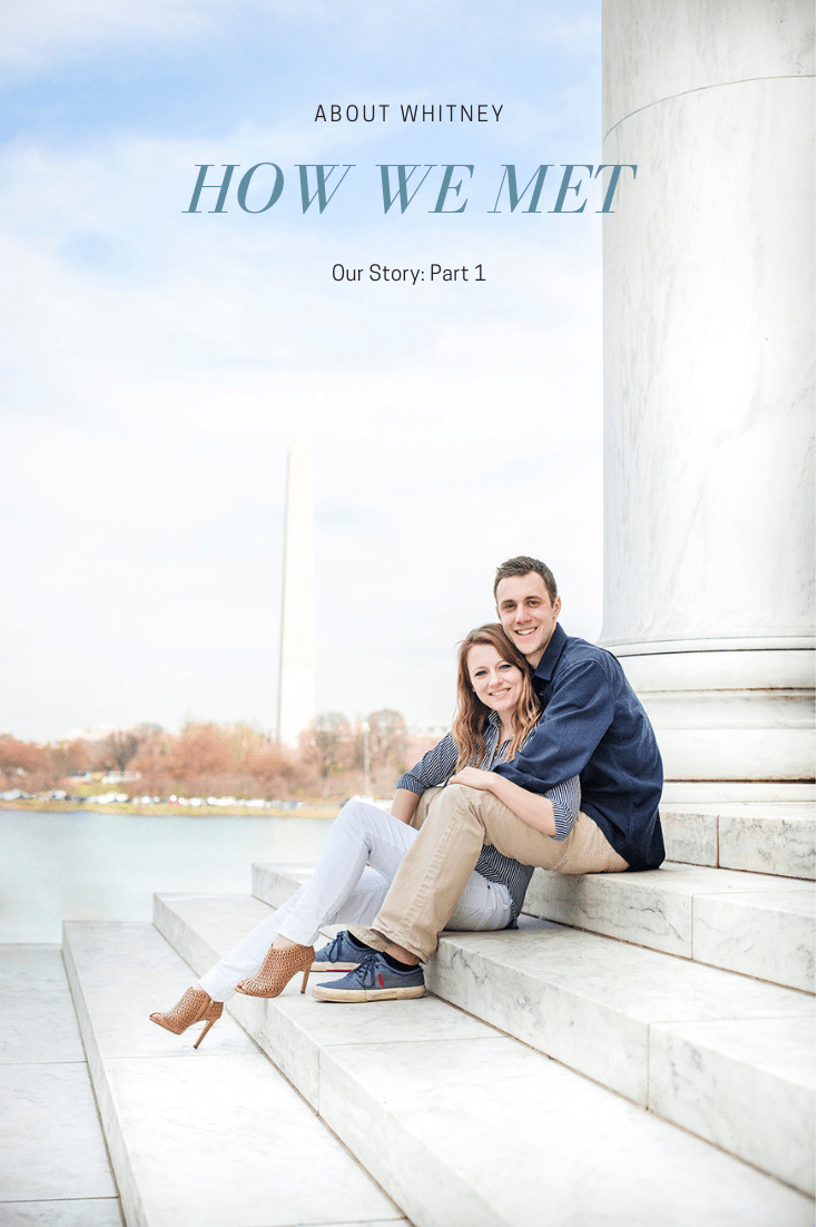 Whitney and Chris How We Meet Our Engagements Washington DC Engagements