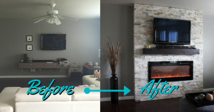 Diy How To Build A Fireplace In One Weekend Whitney Hansen Money Coaching