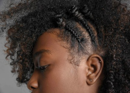 """Natural Hair Project with Brielle Holt. """"I think I would define natural hair as a way of embracing my culture, where I come from, my roots, who I am,"""" Brielle Holt says. """"I feel like your natural hair gives you the ability to express yourself in ways that no one else can because it's your hair and you embody it and no one has the same hair that you have. I feel like when you see my natural hair you get a feel for who I am, I try to be creative with it."""""""