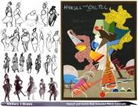 """""""Hansel und Gretel"""" Mad Scientist Witch concepts"""
