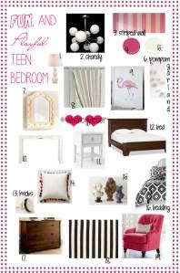 fun and playful teen girl decor