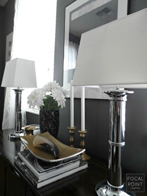 BLACK & WHITE LIVING ROOM LYNDA QUINTERO-DAVIDS FOCAL POINT STYLING  (6) 1000