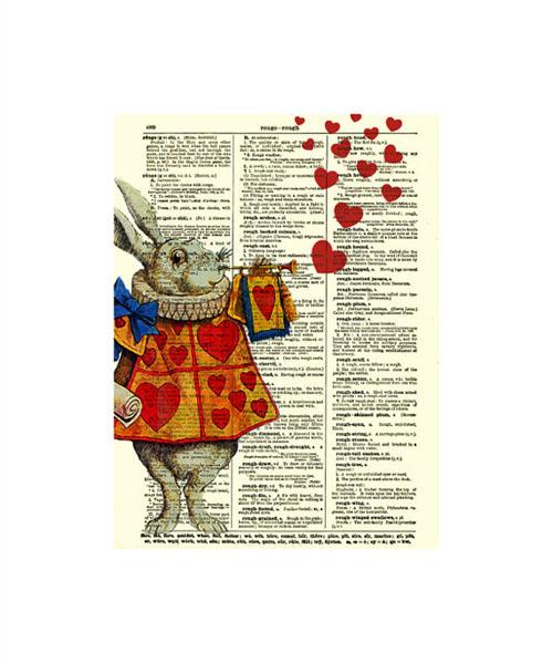 Alice in Wonderland's White Rabbit