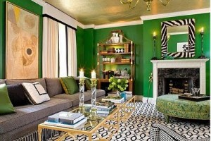 green walls for fall home decor color schemes