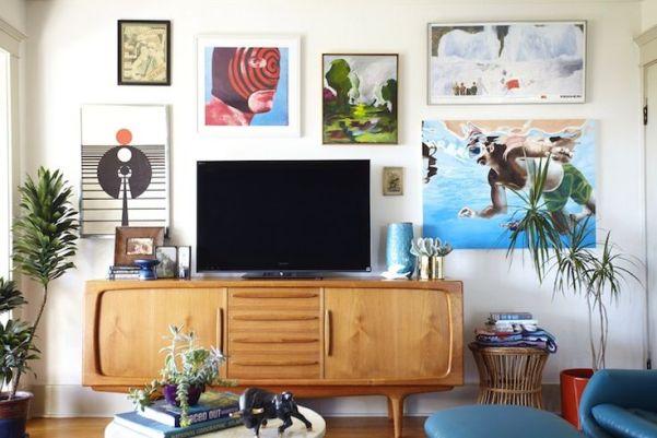 gallery walls - emily henderson
