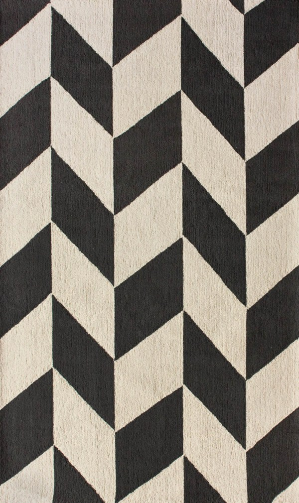 Homespun Chevron Rug from RugsUSA