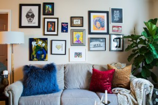 small eclectic colorful apartment | new orleans interior designer | new orleans decorator | nola interior designer | nola decorator | eclectic living room | eclectic dining room