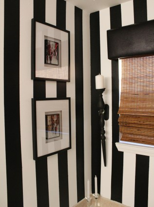Black and White Master Bath
