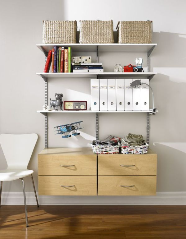 rubbermaid shelving system