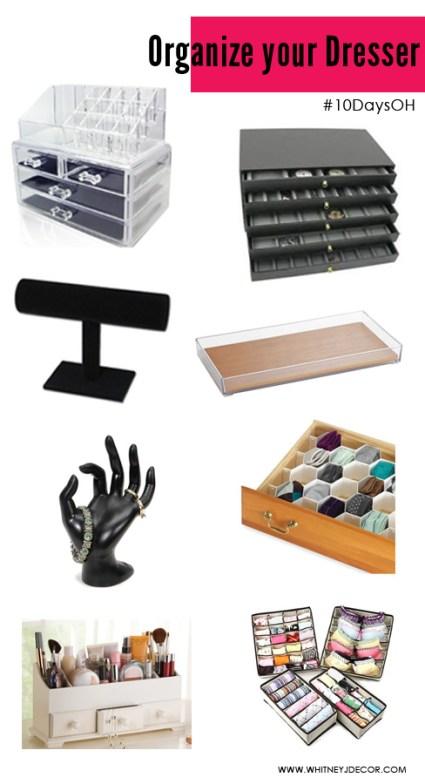 organize your dresser