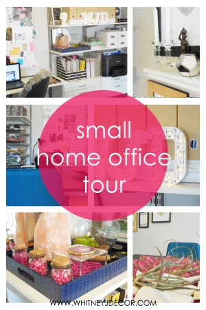 small home office tour