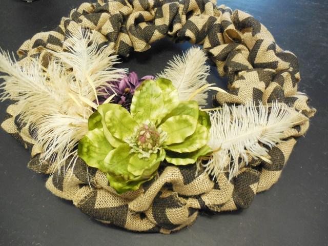 diy challenge - diy wreath