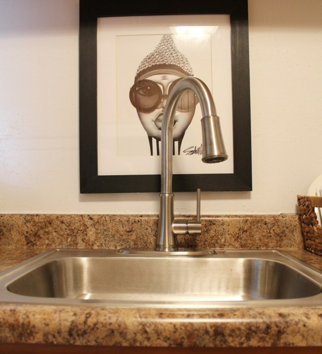 faucet in apartment