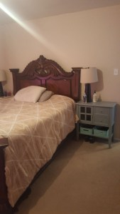 eclectic bedroom layout | one room challenge bedroom layout | before photos