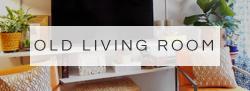 eclectic living room | home decor | eclectic decor | apartment decor