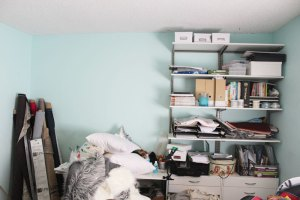 organizing a home office | home organization tips | office organization tips | home office decor