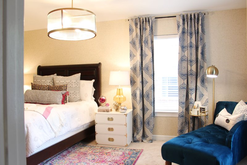 pink and blue transitional bedroom reveal before after 19436 | blue and pink transitional bedroom 22 resize 800 2c533