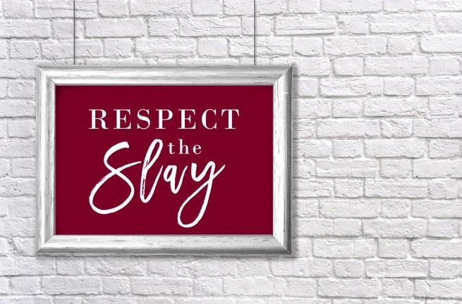 i came to slay | beyonce art | inspirational art | gallery walls | art for gallery wall | beyonce artwork | slay art | slayage