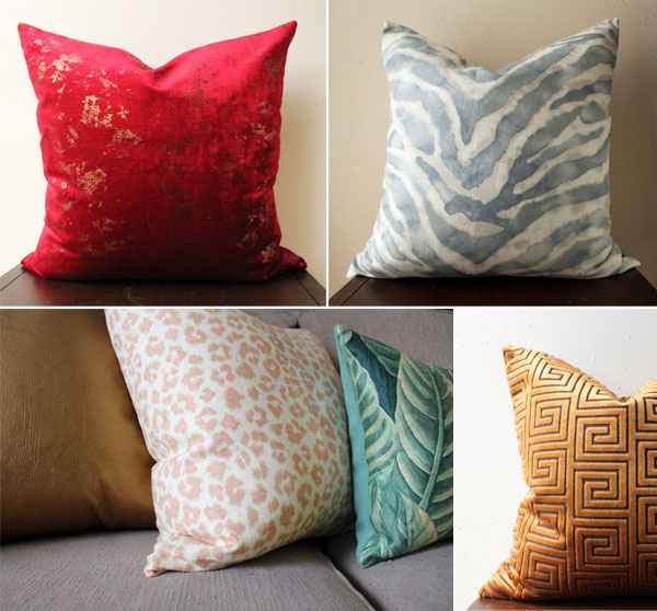pillows | home decor | home accessories | pillow covers | new orleans decorating services | new orleans interior design | whitney j decor apartment tour |new orleans decorator | eclectic decor