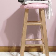painted bar stool | diy bar stool