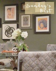 green walls in the living room | whitney j decor | sara golish art | gallery walls | sherwin williams garden gate | new orleans interior designer | new orleans decorator | new orleans blogger | nola interior designer | nola decorator | nola blogger