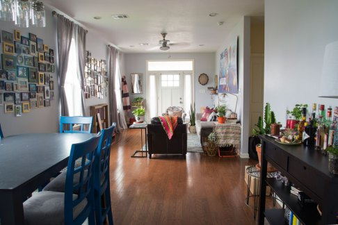 colorful, boho living room | whitney j decor | new orleans interior designer | new orleans decorator | new orleans homes