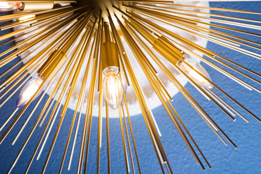 gold sputnik chandelier