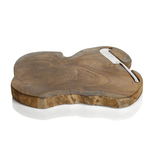 teak wood serving board