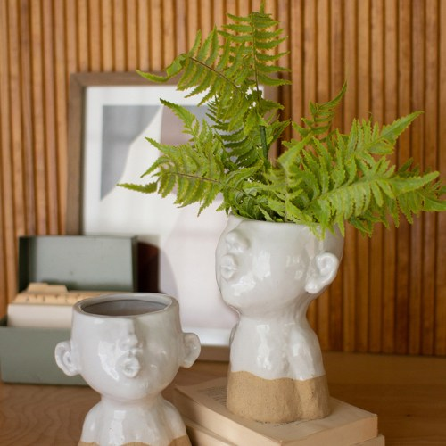 ceramic duck lips planters