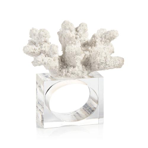 coral napkin ring - design b