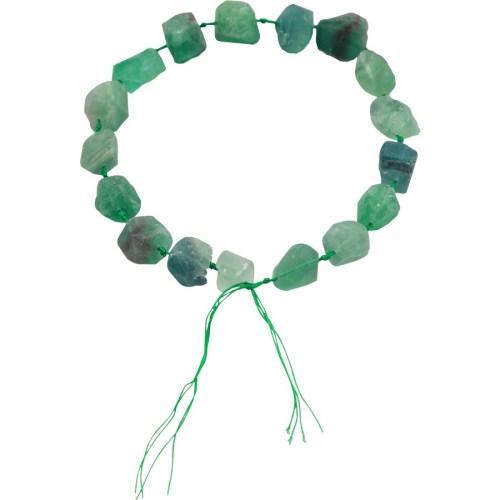 Green Fluorite Bead Garland