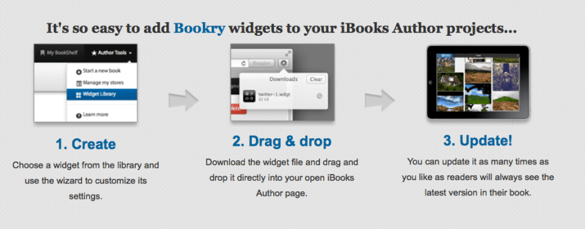 Bookry Widgets