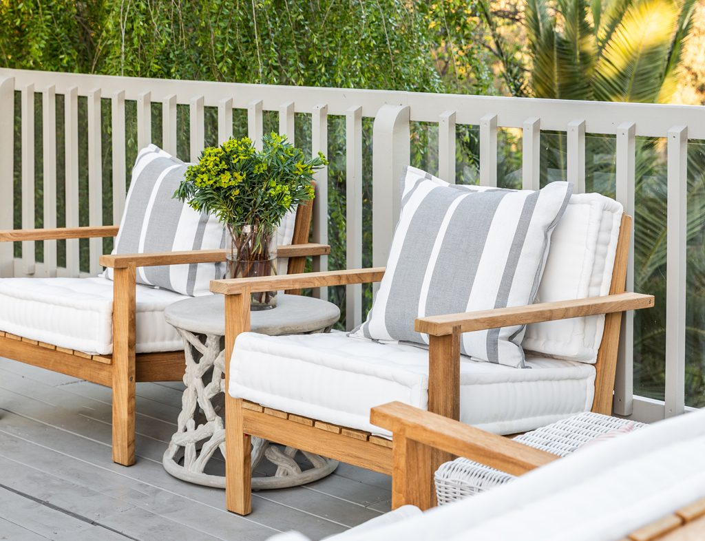 outdoor furniture clean by marie flanigan