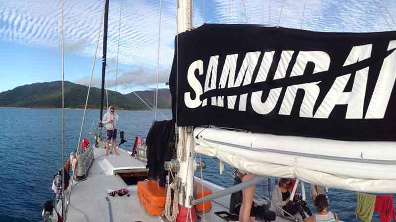 41% whitsundays tour sailing