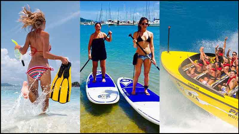 33% off kayak tours airlie beach